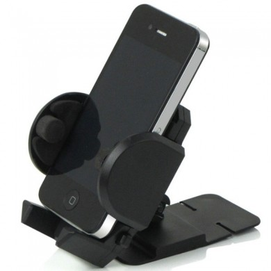 Vehicle Mobile Phone Bracket Stand Retractable ABS Air Outlet