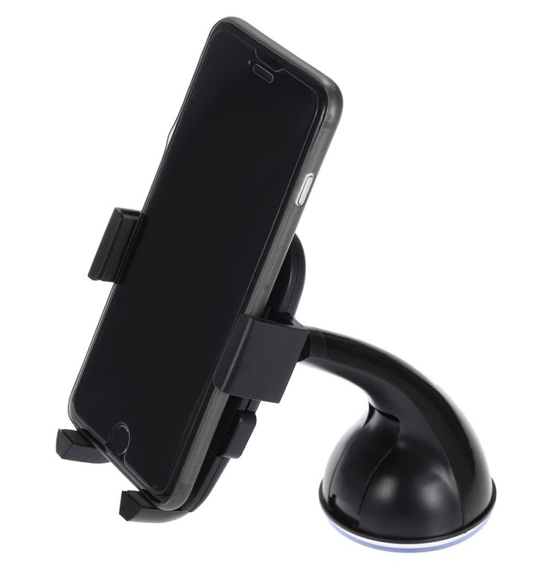 Multifunctional Car Phone Holder Automatically Lock Clip Universal Phone Support (Color: Red) фото