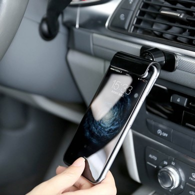 Coche Gravity Phone Clip Holder Dashboard Soporte de cinta adhesiva Soporte universal para iPhone XS XR