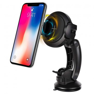 iMars 10W Infrared Sensor Car Wireless Charger Air Vent Dashboard Phone Holder Bracket for iPhone XS