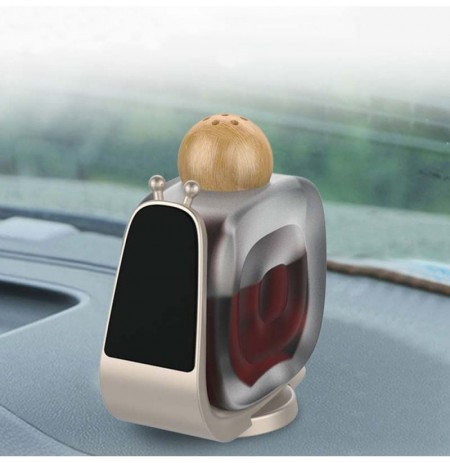 Snails Shape Car Perfume Magnetic Phone Holder Dashoboard Bracket Stand for iPhone X XS XR