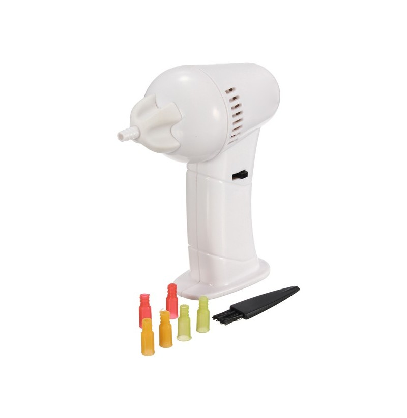 Electric Vac Vacuum Cordless Ear Cleaner Wax Remover Earpick