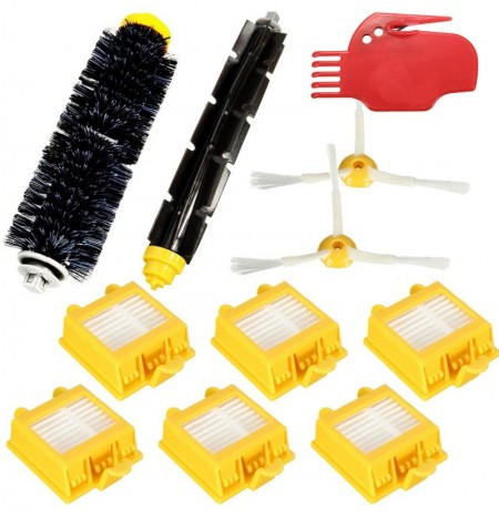 11Pcs Vacuum Cleaner Filters Brush Pack Kit For iRobot Roomba 700 Series 760 770 780 790