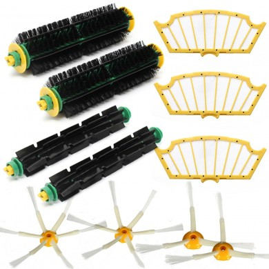 11Pcs Filters Brush Pack Kit For iRobot Roomba 500 Series 510 530 540 550 560 580