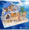 DIY Hoomeda Legend Of The Blue Sea DIY Doll House Miniature Model With Light Music Collection G