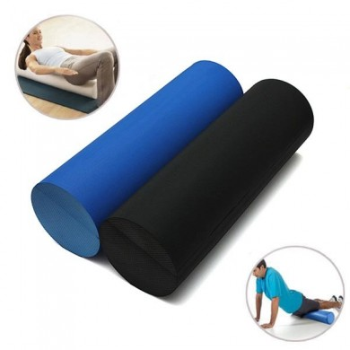 45x14.5cm EVA Yoga Pilates Foam Roller Home Gym Massage Band