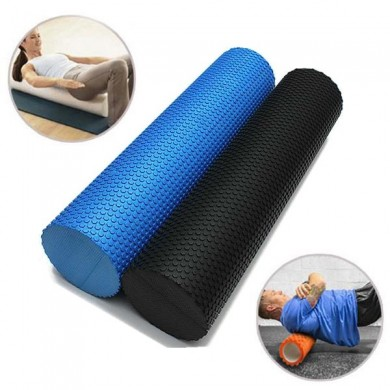 60x14.5 centimetri eva yoga pilates palestra di casa rullo di schiuma trigger point massaggio