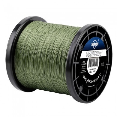 SeaKnigt TRIDENT 1000M 15-60LB PE Braided Fishing Line 4 Strands Super Power Fishing Fio