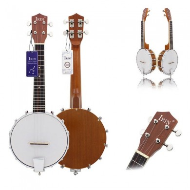 IRIN Four-string Sapelli Banjo Exquisite Professional Banjolele