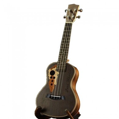 Chensheng 23 Inch Four Strings Rosewood Ukulele With Grape Shape Holes
