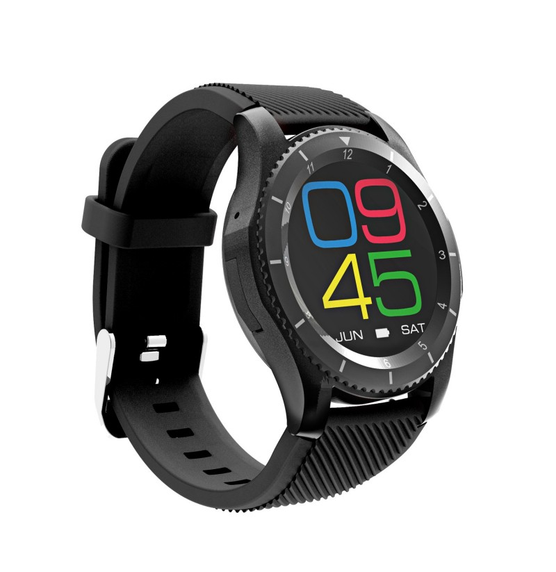 NO.1 G8 MT2502 Blood Pressure Heart Rate Monitor Call SIM Card Smart Watch for Android IOS (Color: Black) фото