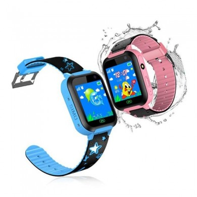 Bakeey DS37 Touch Screen da 1,44 pollici IPX7 SOS GSM LBS Location fotografica Torcia Bambini Smart Watch