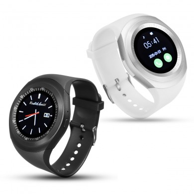 Bakeey Y1 LBS GSM Podemeter Phone Call Bluetooth Smart Watch For iPhone X 8/8Plus Samusng S8