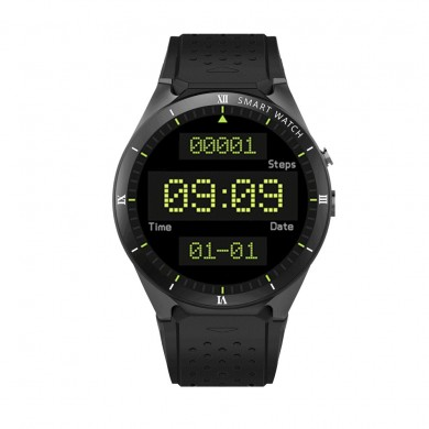 KINGWEAR KW88 Pro 3G MTK6580 WIFI GPS 1G+16G Weather Camera 1.39 inch Android 7.0 Smart Watch Phone