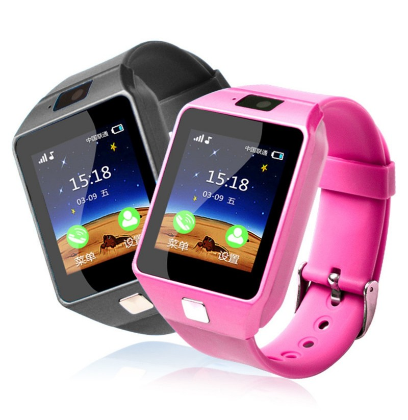 Bakeey Q06 1.54inch 2G Bluetooth Call Anti-lost Safe Tracker Sleep Monitor Kids Smart Watch Phone (Color: Pink) фото