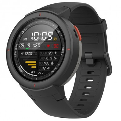 Original Xiaomi Amazfit Verge International Chinese Version AMOLED IP68 GPS+GLONASS 5Days Standby Smart Watch