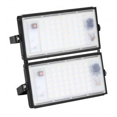 100W 9000lm Waterproof IP65 96 LED Flood Light White Light Spotlight Outdoor Lamp AC175-265V