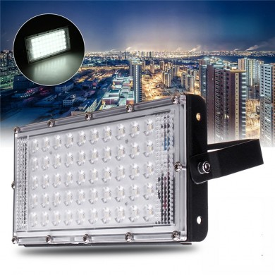 50W 50 LED Flood Light Outdoor Garden Waterproof Landscape Security Lamp AC220V