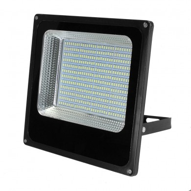 150W Waterproof 384 LED Flood Light White Light Spotlight Outdoor Lamp for Garden Yard AC180-220V