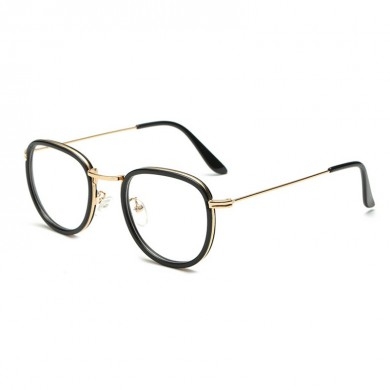Men Women Ultra Light Round Retro Reading Glasses