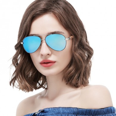 Women Summer Outdoor Luxury UV400 Polarized Sunglasses