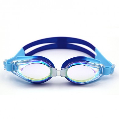 Men Women Outdoor Anti-fog Electroplating Swimming Goggles