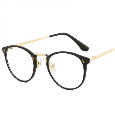 Damen Men Metallrahmen Blaues Licht Blocking Glasses