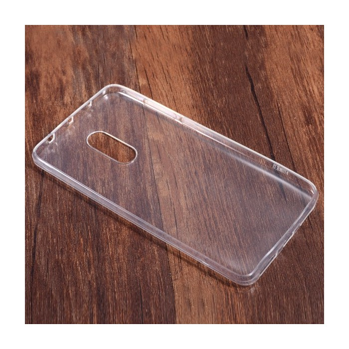 2Pcs Ultra Thin Transparent TPU Soft Back Case For Xiaomi Redmi Note 4