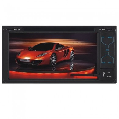 F6077b de toque digital do carro dvd player 6.95 polegadas TFT tela de tv bt grande usb para a Toyota