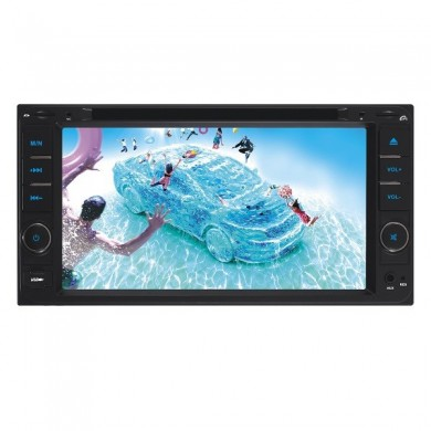 F6042c de toque digital do carro dvd player 6.95 polegadas TFT tela de tv bt grande usb para a Toyota