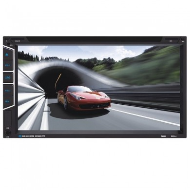 YT- f6082 de toque digital do carro DVD player mp3 mp4 6.95 polegadas TFT tela de cartão sd mmc grande usb ajuste