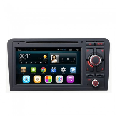 SA-703 carro dvd aux música mp3 mp4 fm no android tela de toque capacitivo para audi A3 2003-2013
