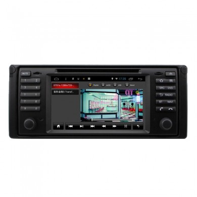 SA-709 carro dvd aux mp3 mp4 fm na tela sensível ao toque do bluetooth capacitiva android para BMW X5 5 séries