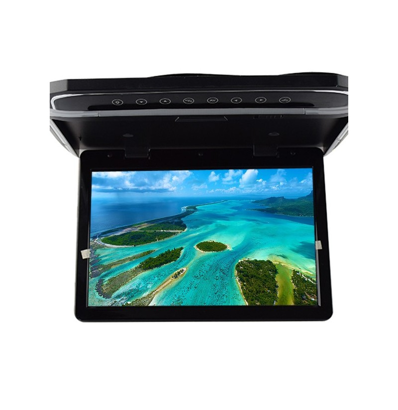 10.2 Inch Vehicle Mounted Suction Head Electric Display For Universal Motor Vehicle Such As Bus, Car (Color: Black) фото