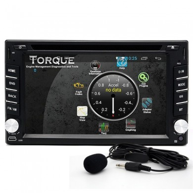 Junsun 2 din Bluetooth Wifi HD estéreo Carro DVD Player 3D Navegador GPS Touch Screen Free Map Update