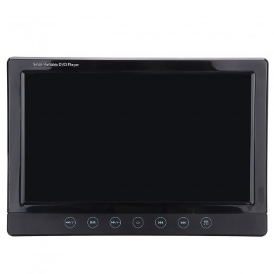 Universal 9 Inch Digital TFT LCD Car DVD Player Headrest Monitor Remote Control