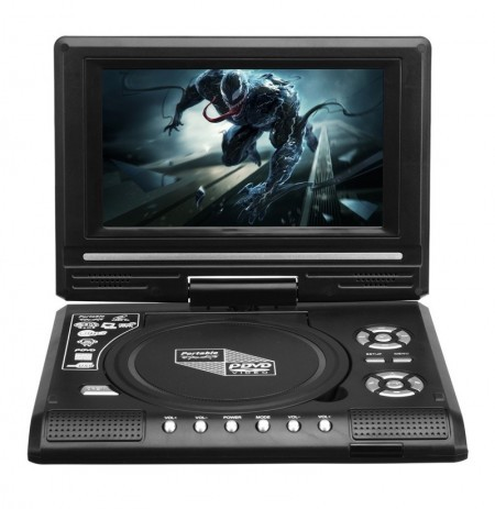 78 Inch Portable Tv Program Game 270 Degree Rotation Car Dvd