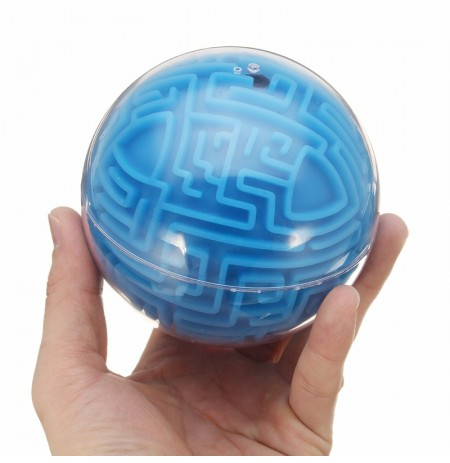 3D Labyrinth Maze Ball Brinquedos Puzzle Track Speed ​​Balance Finger Rolling Ball Intelligence Game Toy