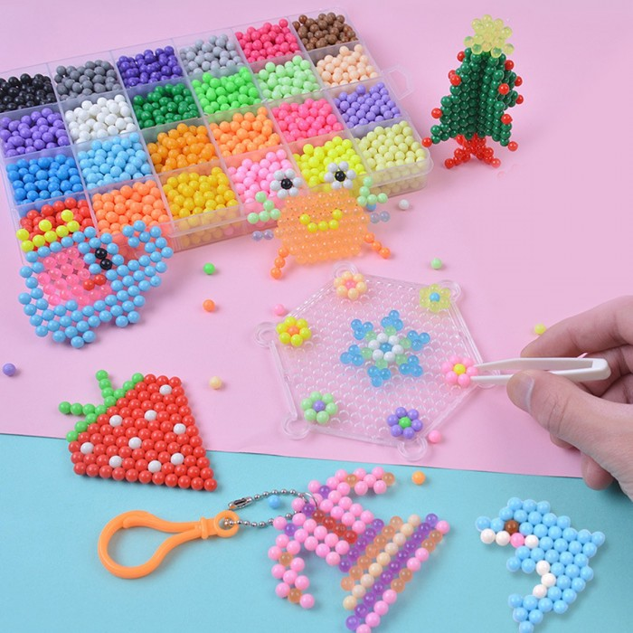 Magic Water Sticky Beads Fuse Beads Refill Compatible With Aquabeads And  Beados Art Crafts Toys