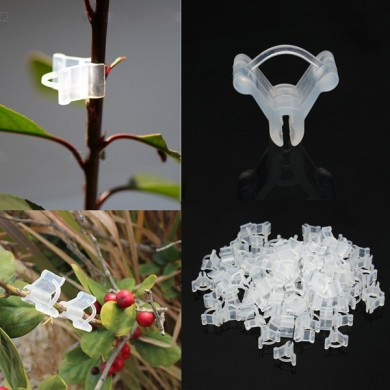 100pcs Fruit Vegetable Grafting Clips Garden Plants Seedling Tools