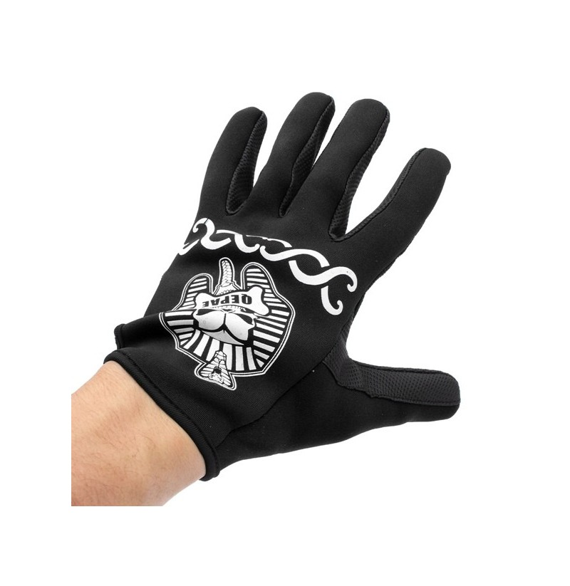 Bicycle Bike Winter Sports Warm Cycling Full Finger Gloves (Color: Blue, Size: M) фото