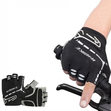 INBIKE MH206 Men Women Bike Gloves Half Finger Gel Padded MTB Motorcycle Gloves