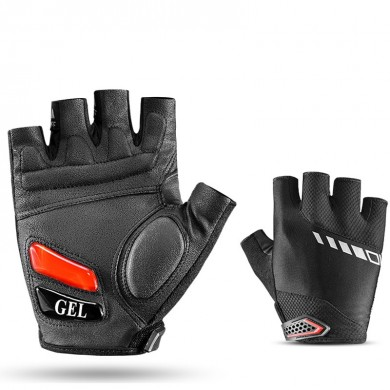ROCKBROS S143 Cycling Gloves For Men Women Bike Bicycle MTB Gel Pad Half Finger Glove Shockproof
