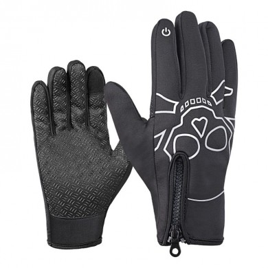 WHEEL UP Touch Screen Full-finger Windproof Soft Warm Glove Cycling Thermal Sport Bike Gloves