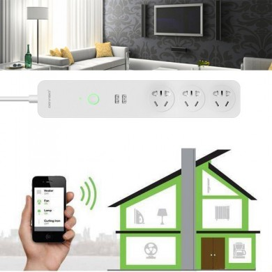 ORVIBO COCO USB WiFi Smart Home Extension Sockets Switches Remote Control Timing Plug Power Strip