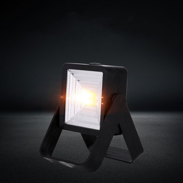 High Quality Outdoor Camp Work Light COB LED USB Rechargeable Solar Work Lamp