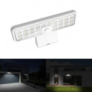 Solar Power 26 LED PIR Motion Sensor Wall Light Waterproof Outdoor Yard Garden Security Lamp