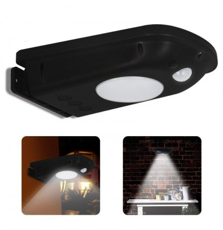 Solar Power 12 LED Wall Light for Outdoor Garden Lamp Waterproof IP65