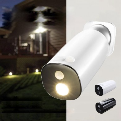 Solar Power Body Induction Sensor Wall Lamp Waterproof Garden Street Light