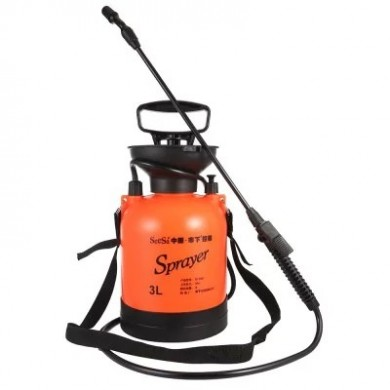 3L Hand Air Pressure Sprayer Orange